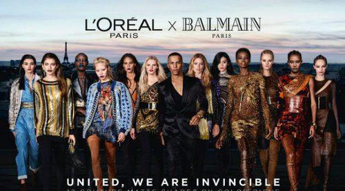 'Balmain x L'Oréal', la exclusiva y esperada colección de labiales que une alta costura y belleza asequible