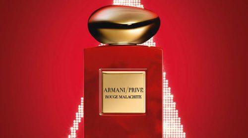 Armani Privé lanza 'L'Or de Russie', la edición limitada del perfume 'Rouge Malachite' para Navidad 2017