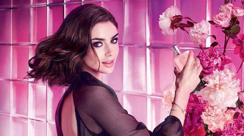 Lily Collins presenta 'Miracle Secret', el nuevo perfume de Lancôme