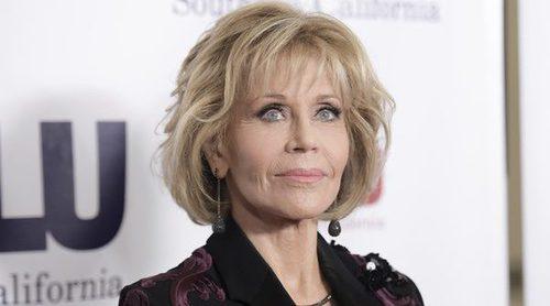 Jane Fonda consigue el mejor beauty look de esta primera semana de diciembre