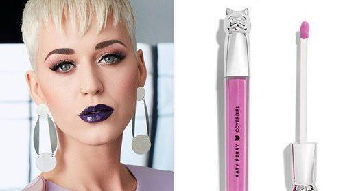 Katy Perry vuelve a colaborar con Covergirl para lanzar una línea de labiales con acabado gloss
