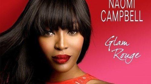 Naomi Campbell refleja su pasión y estilo personal en su nueva fragancia 'Glam Rouge'