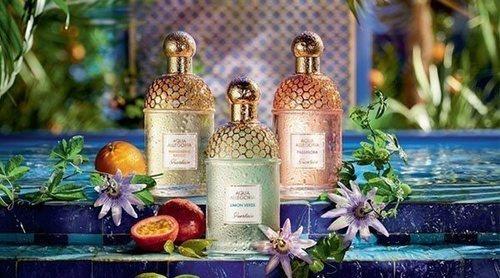 Guerlain lanza 'Aqua Allegoria Passiflora' acompañada de tres reediciones de la línea 'Aqua Allegoria'