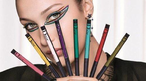Dior presenta con Bella Hadid su nueva y colorida colección de máscaras de pestañas y delineadores