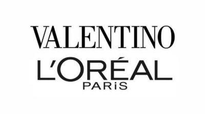 Valentino y L'Oreal se unen para crear una línea de cosméticos y fragancias de lujo