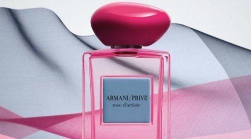 Armani presenta 'Rose d'Artiste', la nueva fragancia de la colección 'Armani Privé Les Éditions Couture'
