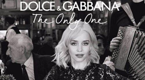 Emilia Clarke es el rostro y la voz de 'The Only One', la nueva fragancia femenina de Dolce & Gabbana