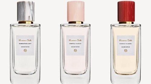 'Manhattan Light', 'Souffle Marais' y 'Evening Whispers', las nuevas fragancias femeninas de Massimo Dutti