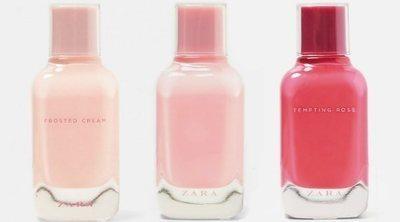 'Frosted Cream', 'Fizzy Pink' y 'Tempting Rose', las nuevas fragancias femeninas de Zara