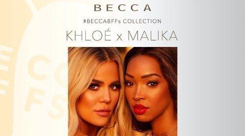 Khloé Kardashian y Malika Haqq lanzan una colección de maquillaje en colaboración con Becca