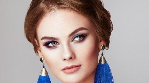 Maquillaje de ojos ahumados para ojos grandes