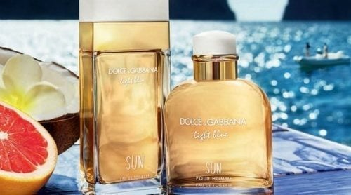 'Light Blue Sun', el dúo de fragancias en edición limitada de Dolce & Gabbana para este verano 2019