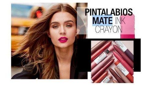 'Super Stay Ink Crayon', el nuevo labial mate de larga duración de Maybelline