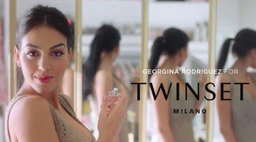 Georgina Rodríguez es la embajadora del primer perfume de Twinset Milano