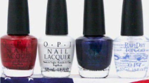 OPI despierta tu lado yanki con 4 esmaltes inspirados en la bandera de Estados Unidos