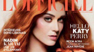 Katy Perry, pelirroja para la portada de L'Officiel Paris