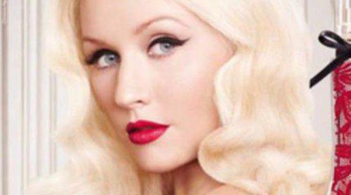 Christina Aguilera lanza su nueva fragancia, 'Red Sin'