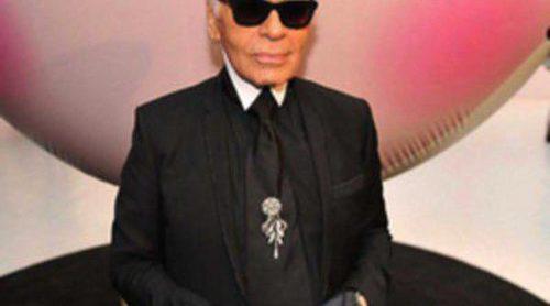Presentación de la colección de Karl Lagerfeld y Shu Uemura
