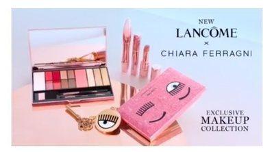 Chiara Ferragni lanza su primera colección de maquillaje en colaboración con Lancôme