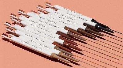 Fenty Beauty anuncia el lanzamiento de su próximo éxito: lápices para cejas en 14 tonos diferentes