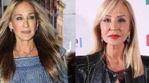 Sarah Jessica Parken y Carmen Lomana lucen los mejores beauty looks de la semana