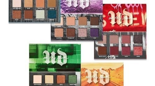 'On the run mini palette': las cinco nuevas paletas de Urban Decay de tamaño reducido