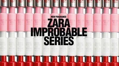 Zara lanza 'Improbable Series', una colección de 4 fragancias para mujer