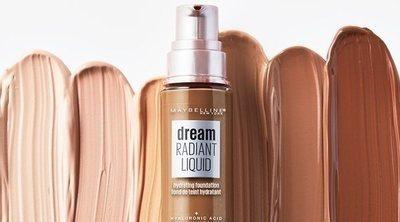 La 'Dream Radiant Liquid' de Maybelline, la base de maquillaje que protege las pieles secas