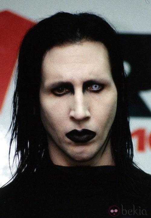 Maquillaje de Marilyn Manson para Halloween 2011