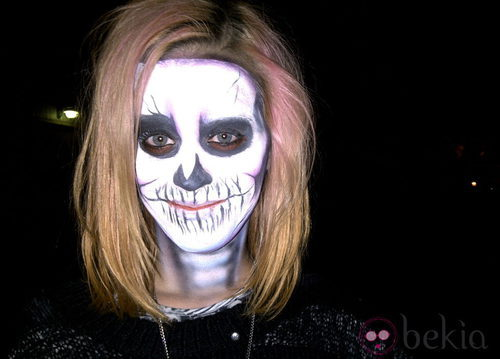 Maquillaje de esqueleto para Halloween 2011