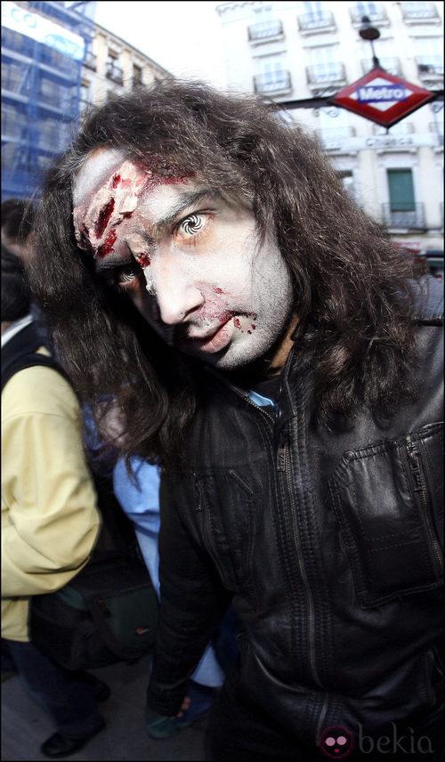 Maquillaje de zombie para Halloween 2011