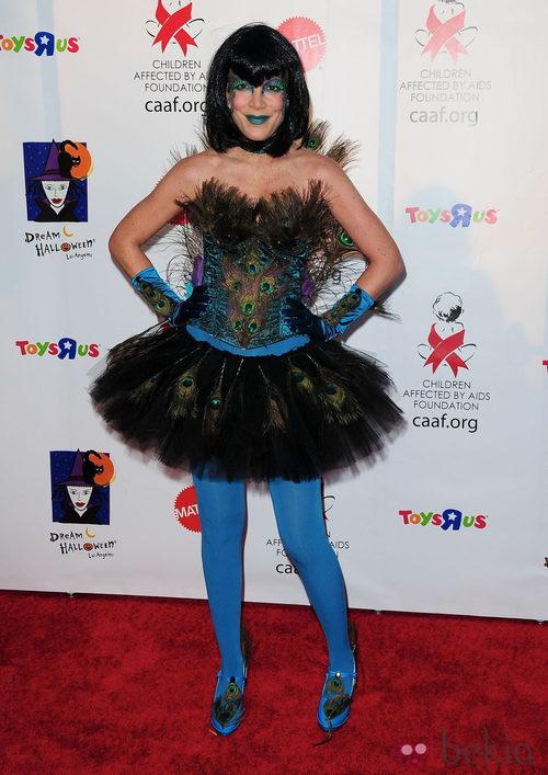 Maquillaje de Tori Spelling para Halloween 2011