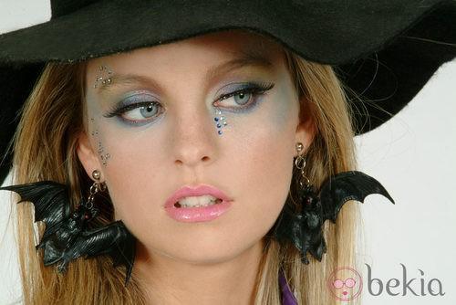 Maquillaje de bruja para Halloween 2011