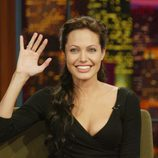 Angelina Jolie en el programa 'The Tonight Show with Jay Leno'