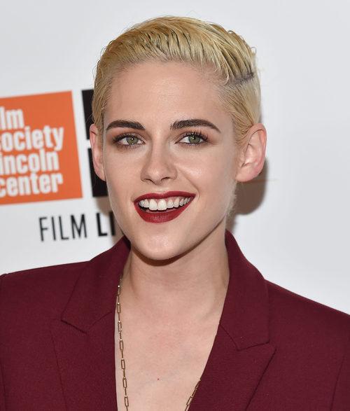 Kristen Stewart con un makeup otoñal