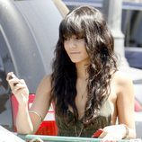 Vanessa Hudgens con flequillo