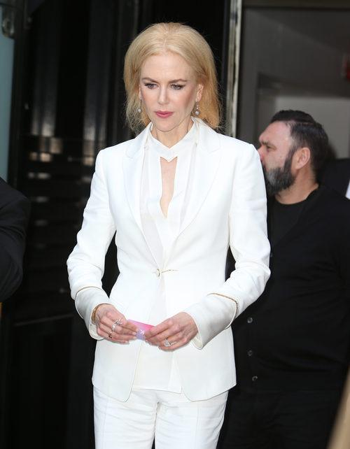 Nicole Kidman con el cabello hinchado