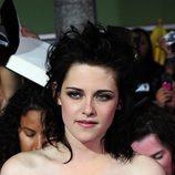 Kristen Stewart con los pelos de punta