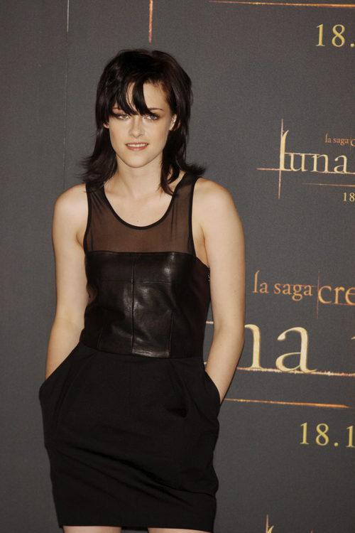 Kristen Stewart con un flequillo de mechones