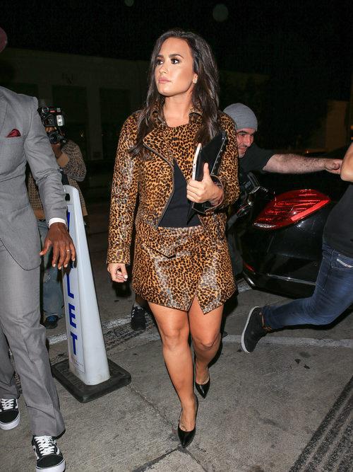 Demi Lovato con un rostro graso