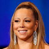 Mariah Carey con una tirante coleta alta