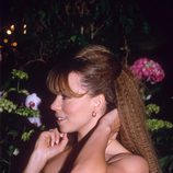 Mariah Carey con la melena crimped