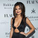 Selena Gomez con una trenza de espiga