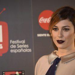 Blanca Suárez se decide por el berenjena para los labios