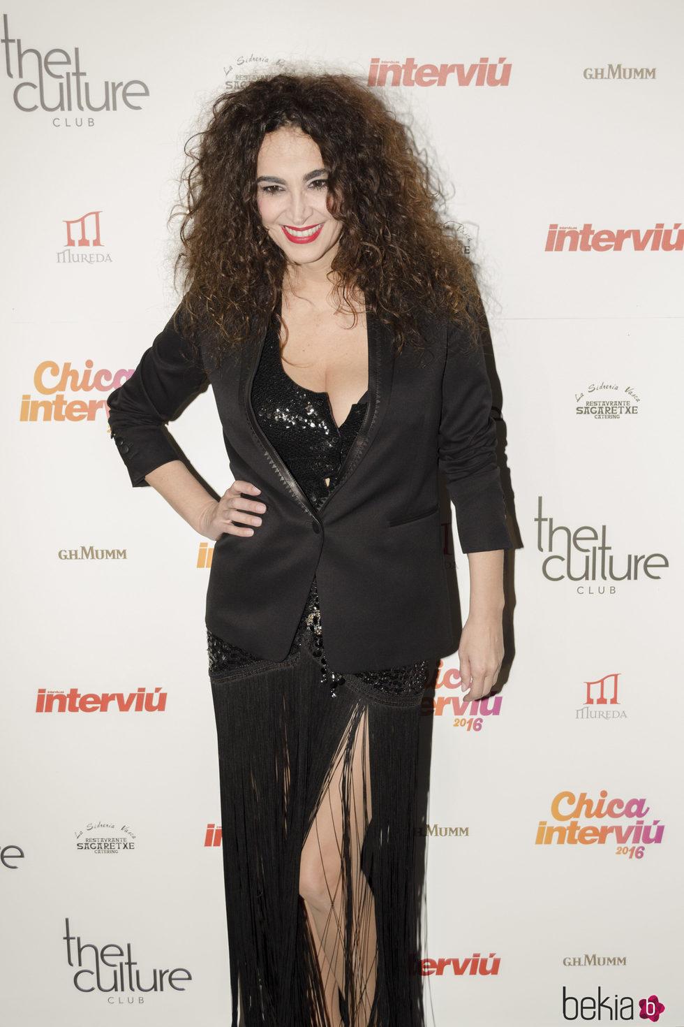 Cristina Rodríguez escoge una base de maquillaje muy clara