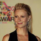 Gwyneth Paltrow con un tupé despeinado