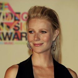 Gwyneth Paltrow con un tupé despeinado