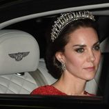 Kate Middleton con su espectacular corona