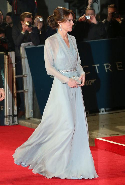 Kate Middleton con un voluminoso recogido