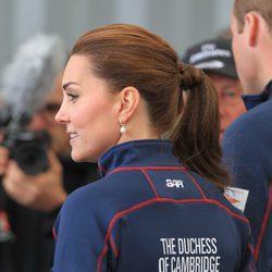 Kate Middleton deportiva con una coleta trasera